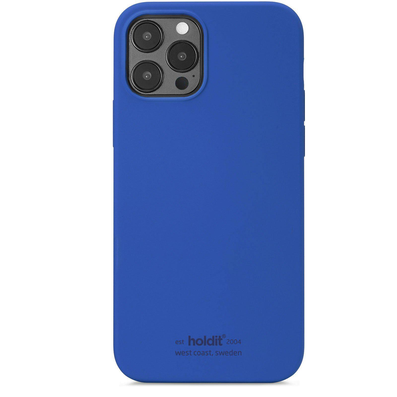 Silikonikuori iPhone 12 Pro Max Royal Blue
