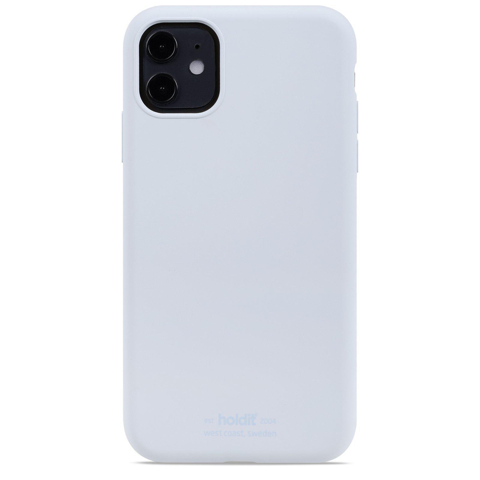 Silikonikuori iPhone 11/XR Mineral Blue
