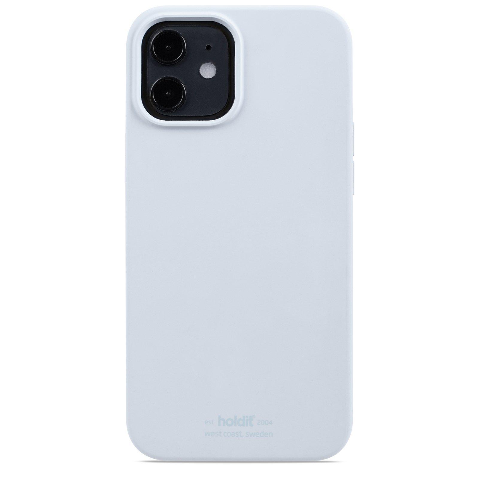 Silikonikuori iPhone 12/12 Pro Mineral Blue