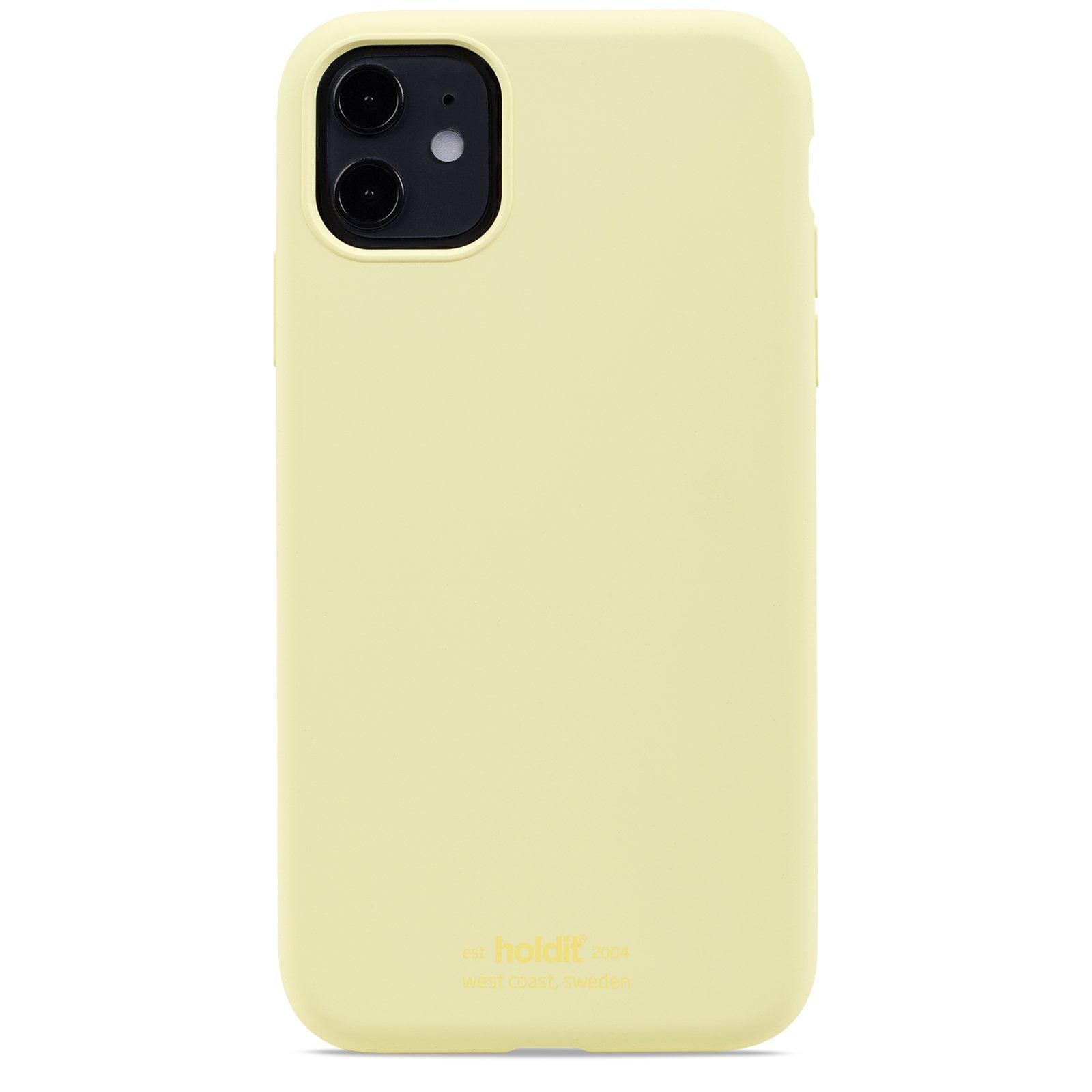 Silikonikuori iPhone 11/XR Lemonade