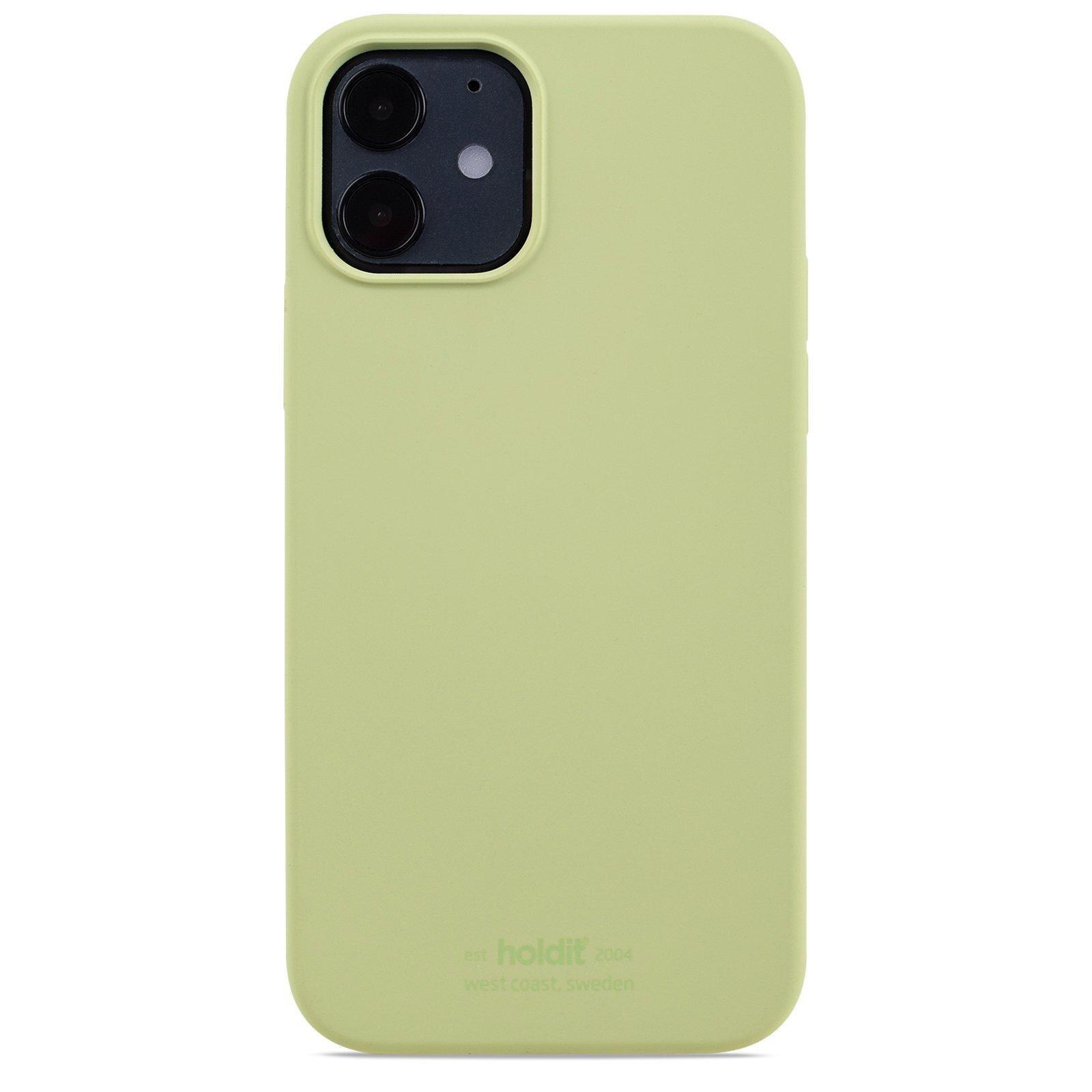 Silikonikuori iPhone 12/12 Pro Kiwi