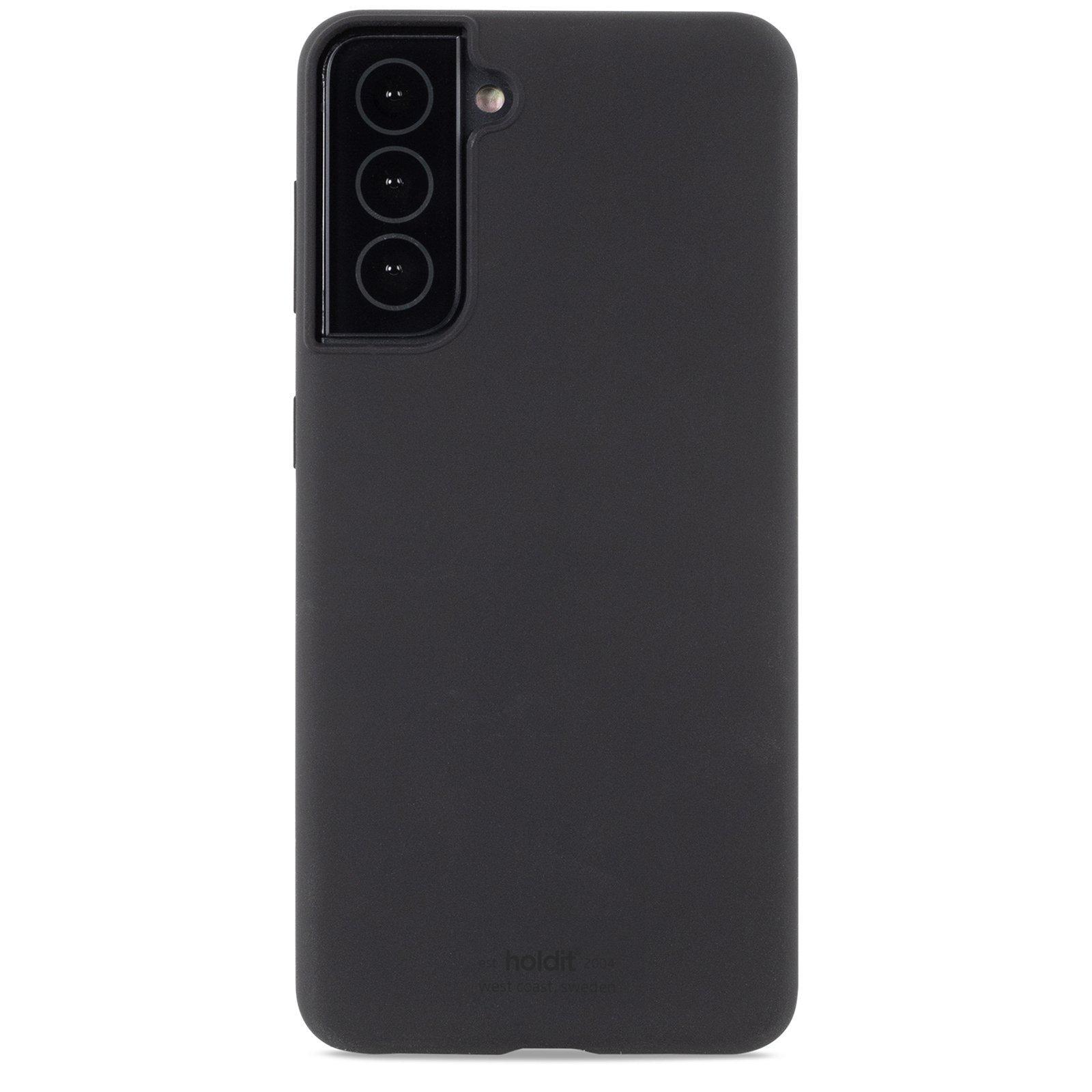 Silikonikuori Samsung Galaxy S21 Musta