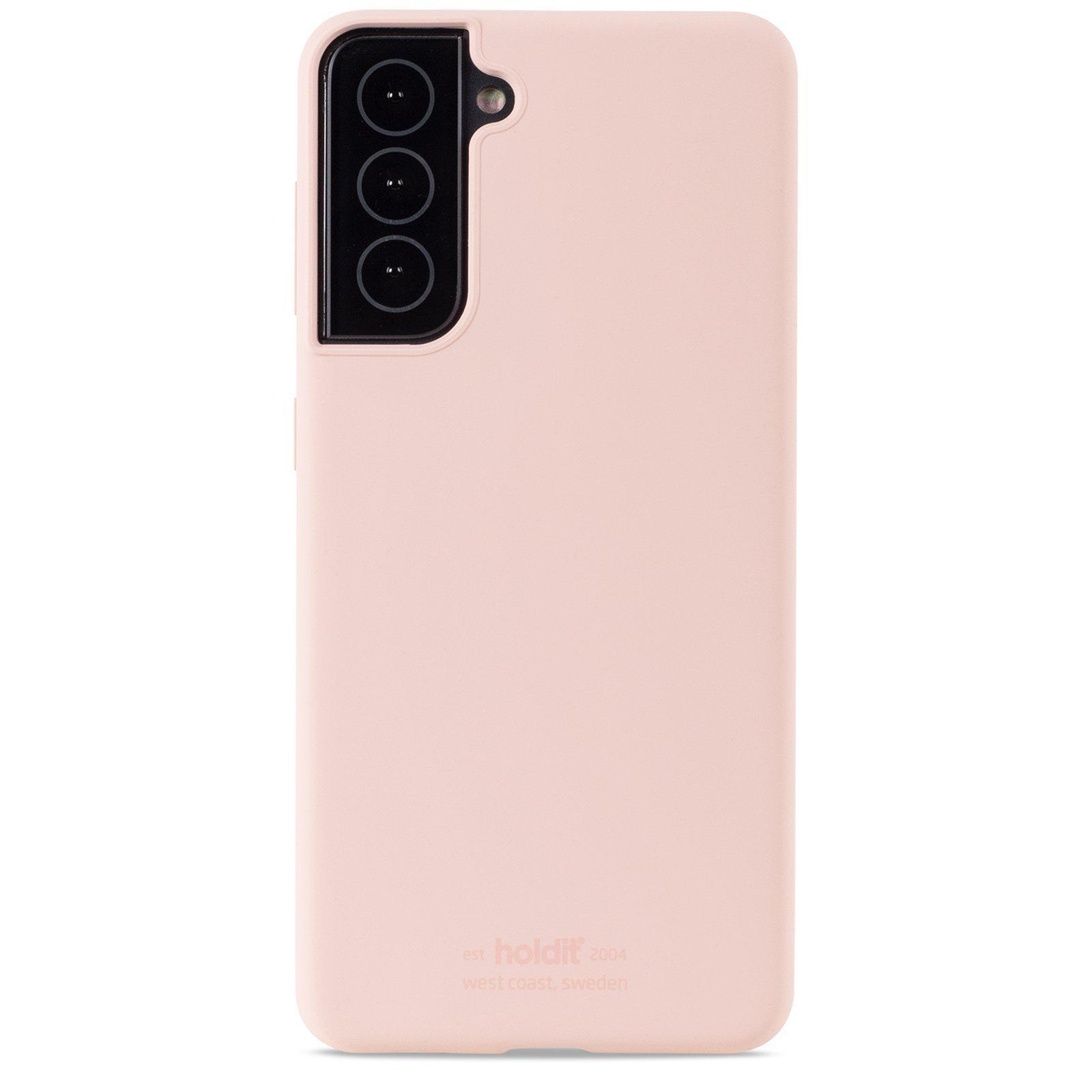 Silikonikuori Samsung Galaxy S21 Blush Pink