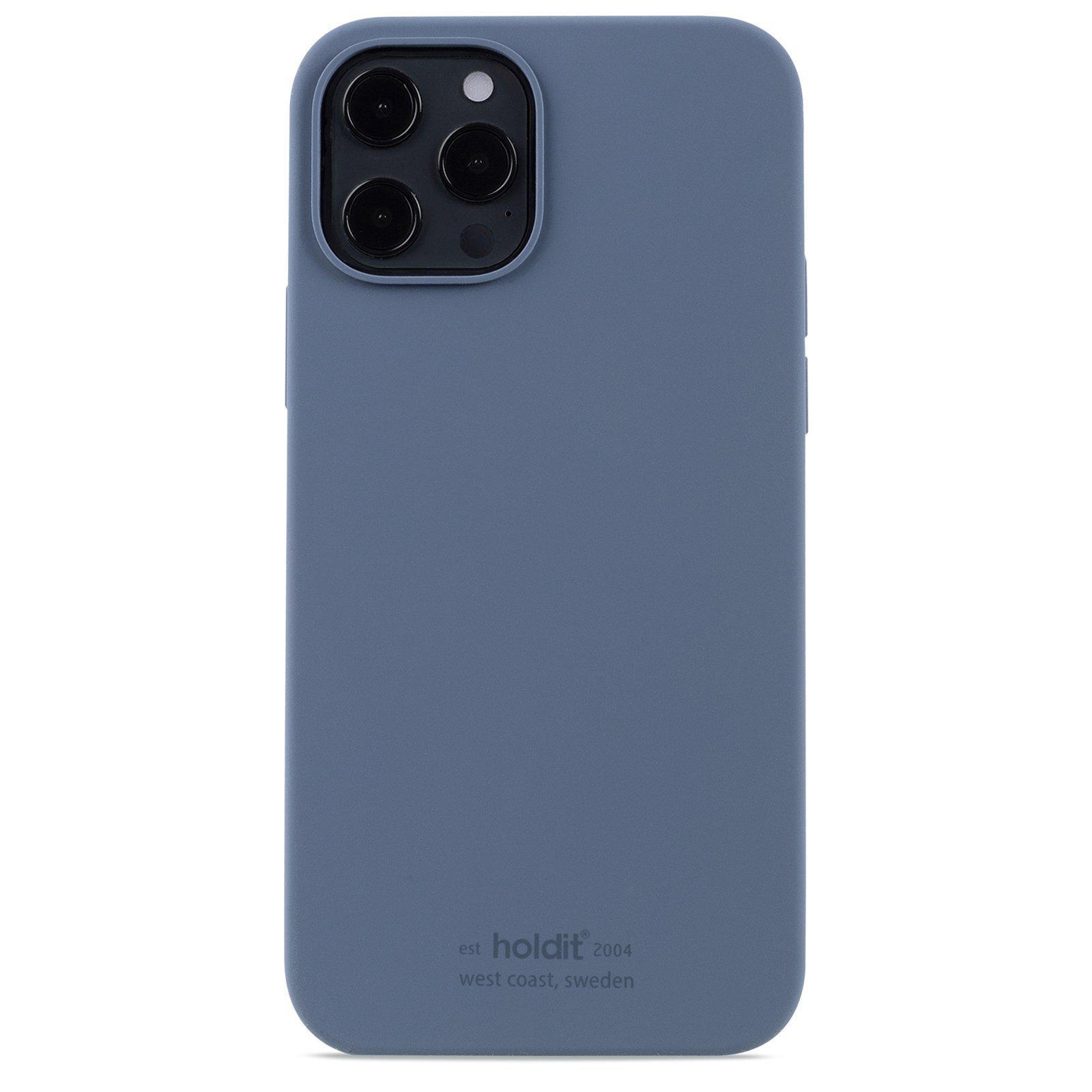 Silikonikuori iPhone 12/12 Pro Pacific Blue
