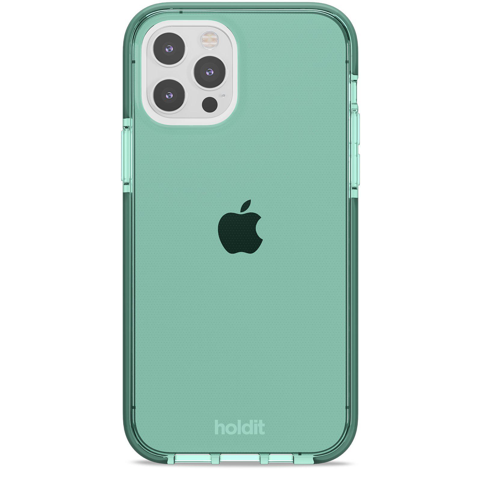 Seethru Skal iPhone 12/12 Pro Moss Green