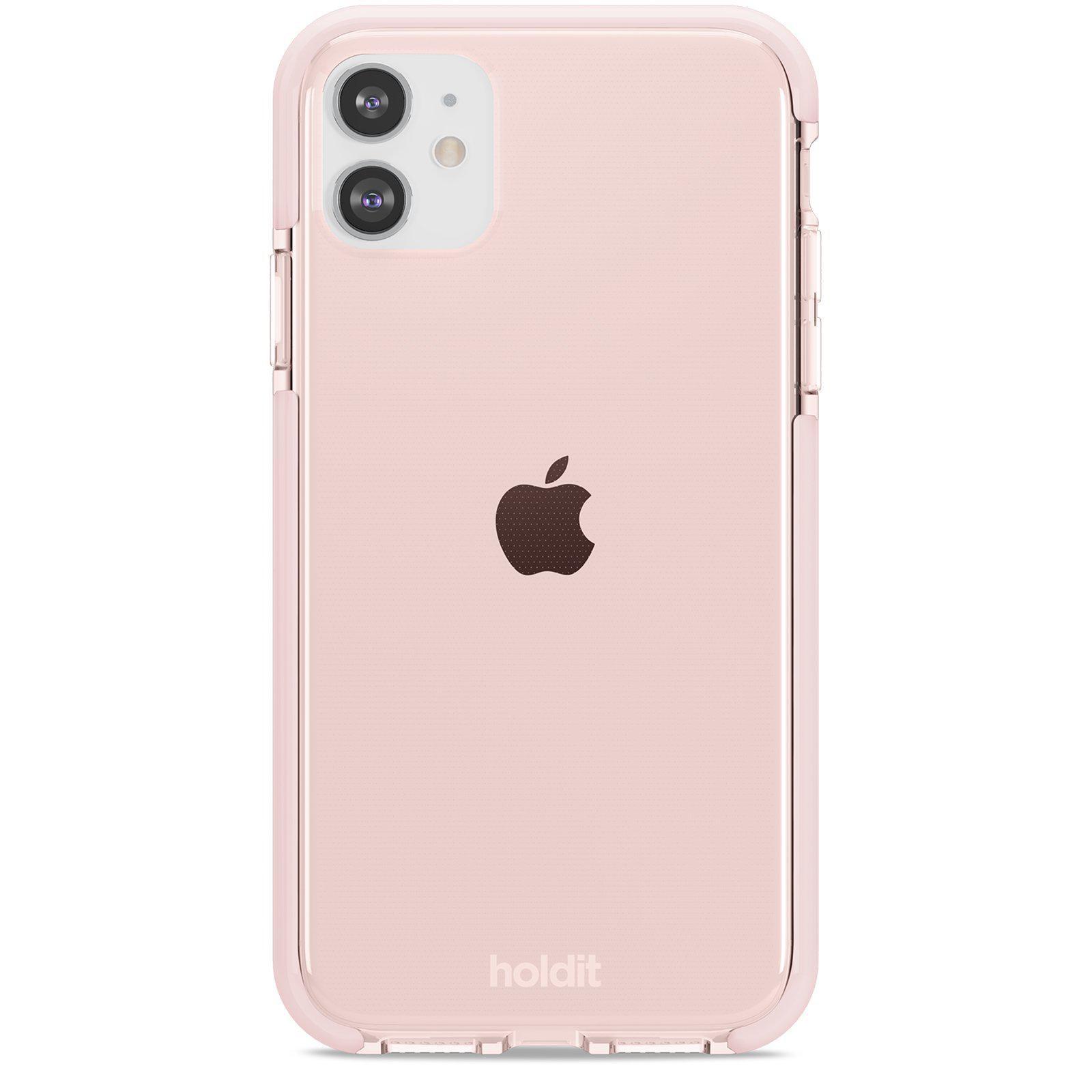 Seethru Skal iPhone 11/XR Blush Pink