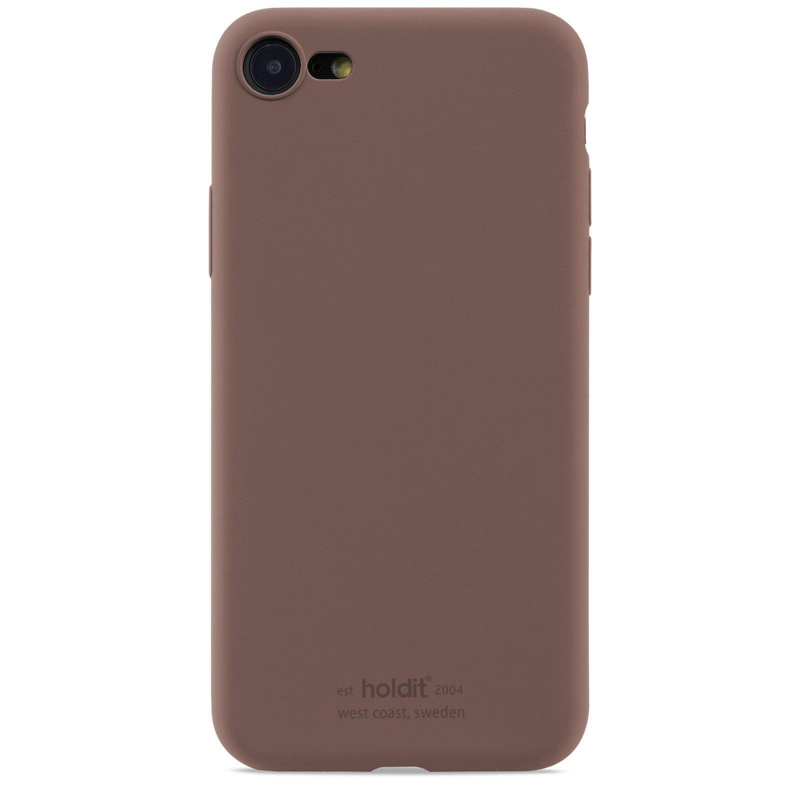 Silikonikuori iPhone 7/8/SE 2020 Dark Brown