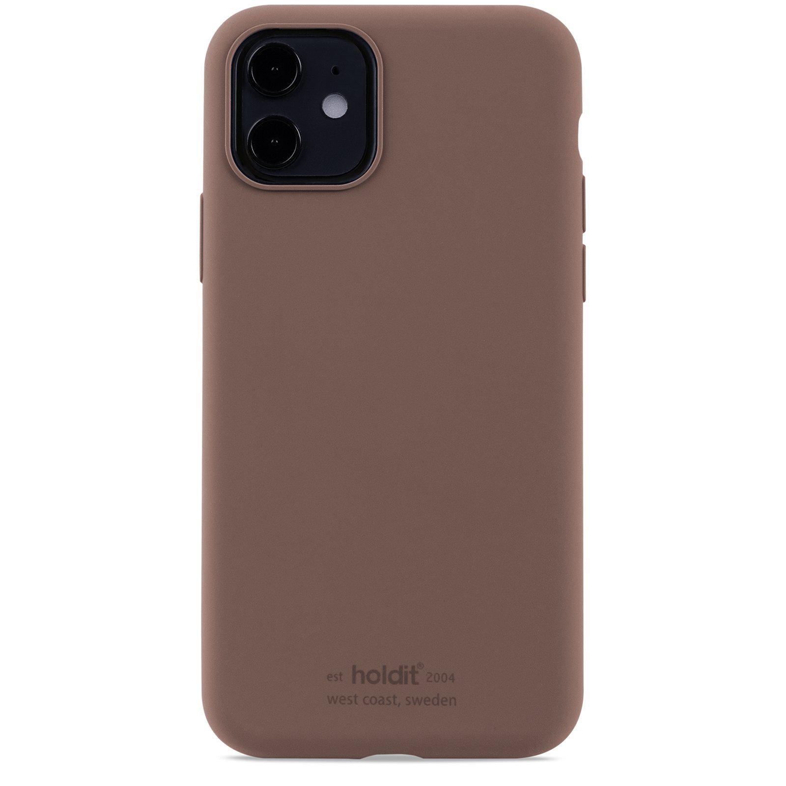 Silikonikuori iPhone 11/XR Dark Brown