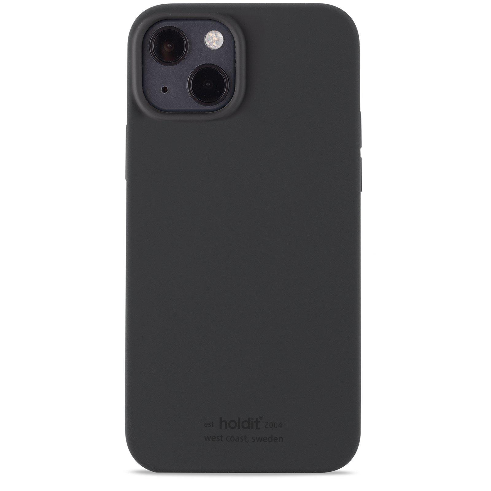 Silikonikuori iPhone 13 Mini Musta