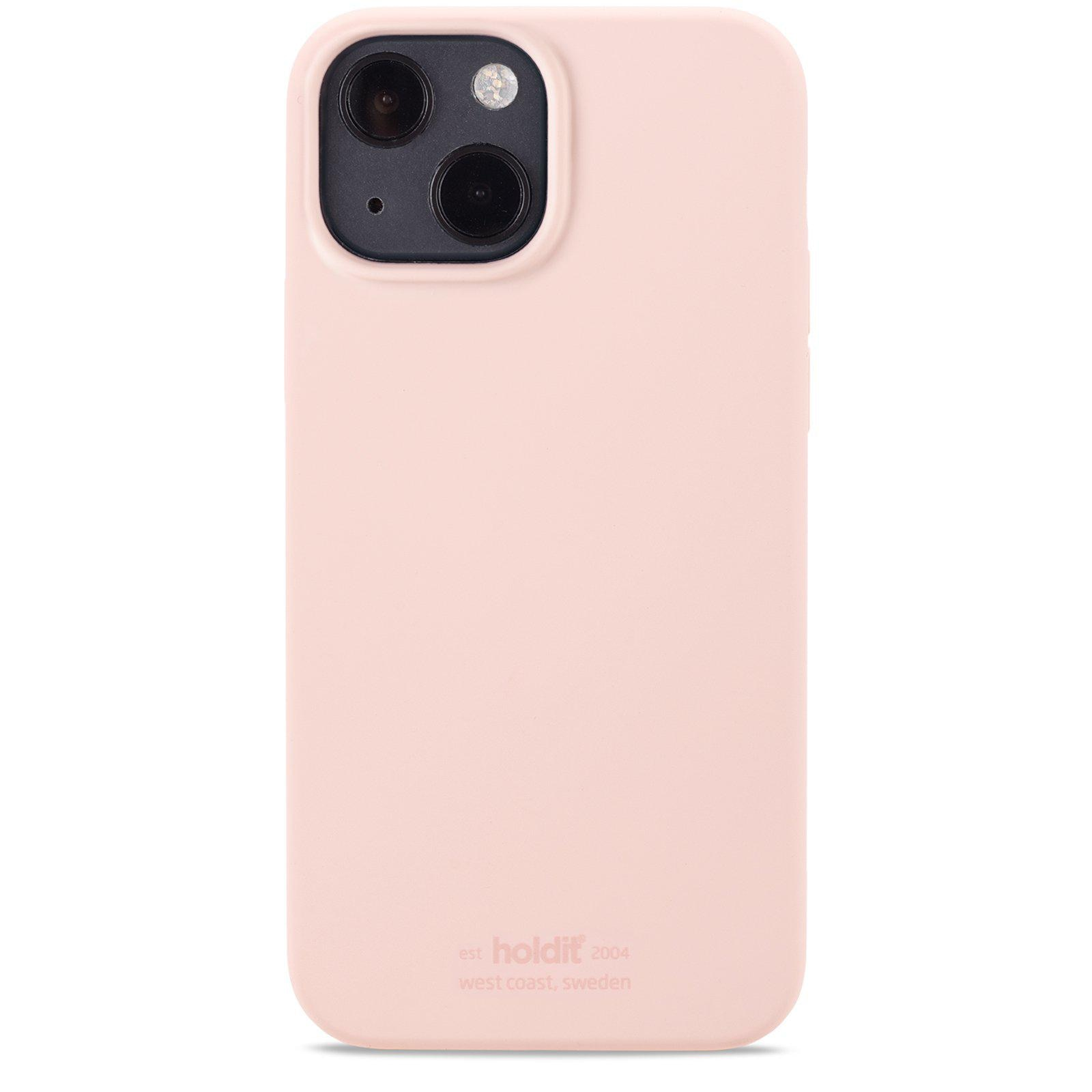 Silikonikuori iPhone 13 Mini Blush Pink