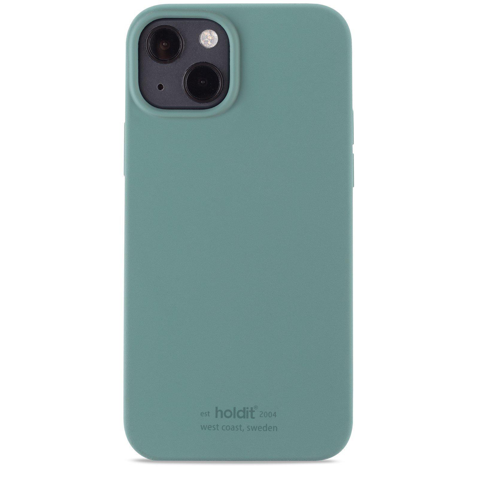Silikonikuori iPhone 13 Mini Moss Green