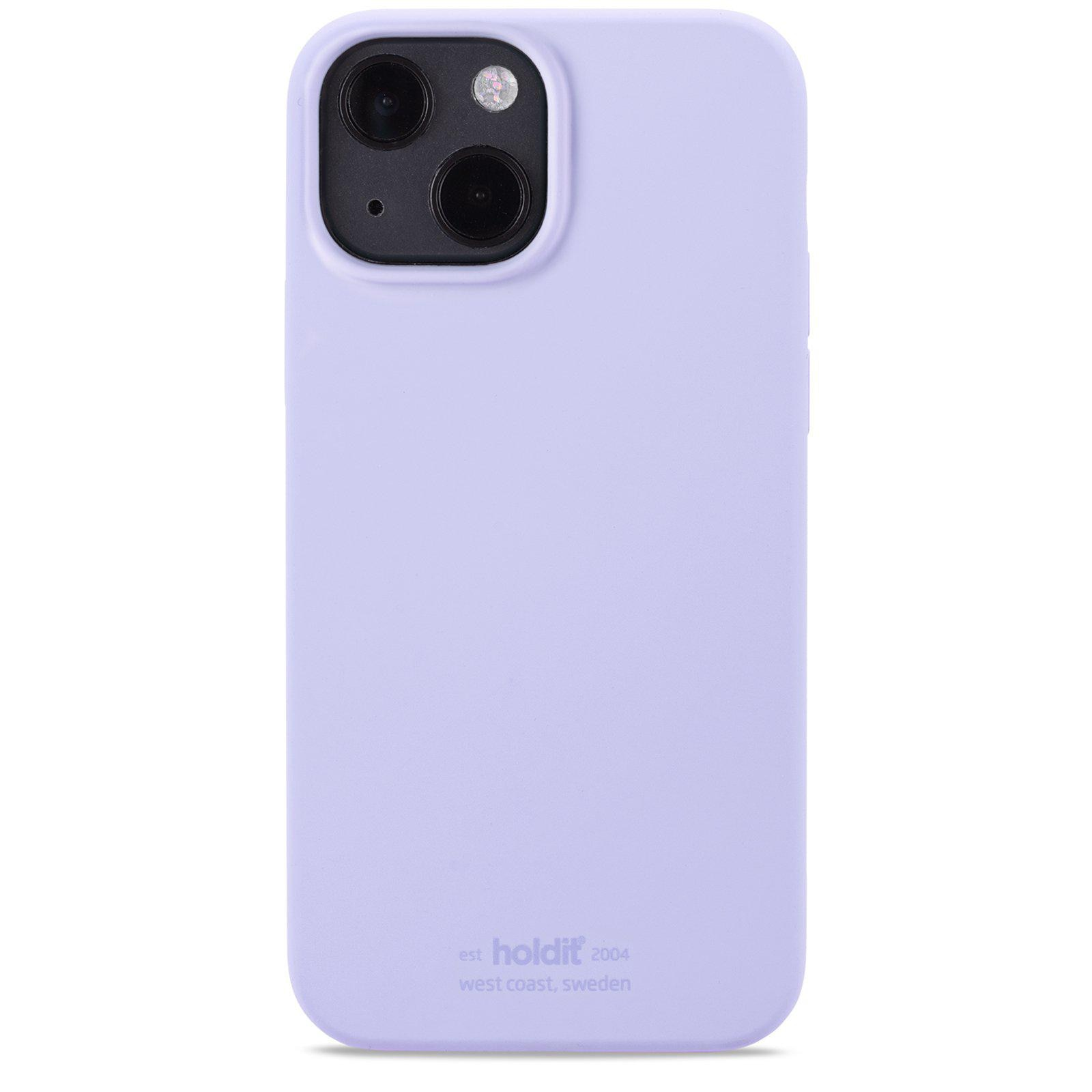 Silikonikuori iPhone 13 Lavender