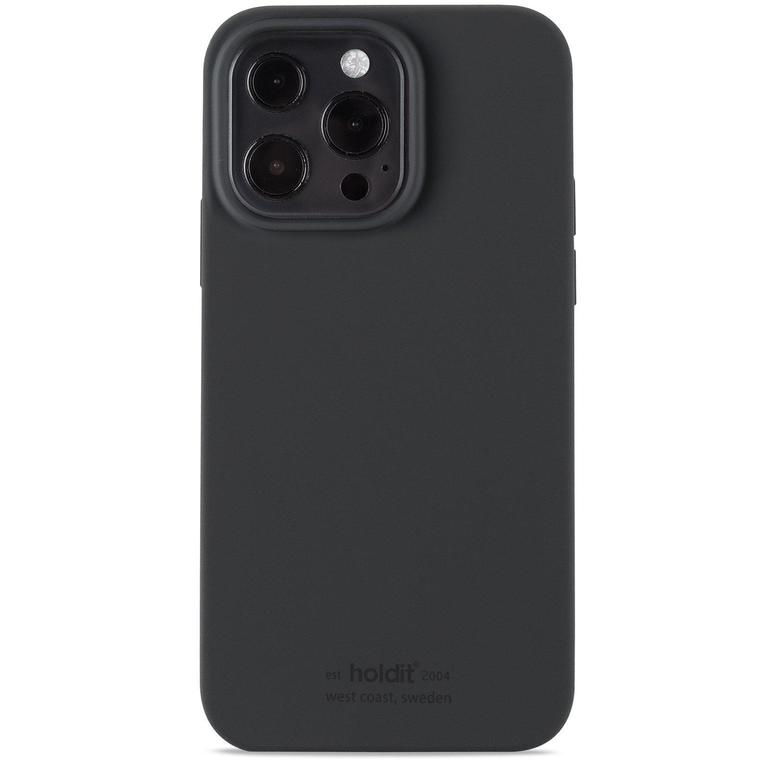 Silikonikuori iPhone 13 Pro Max Black