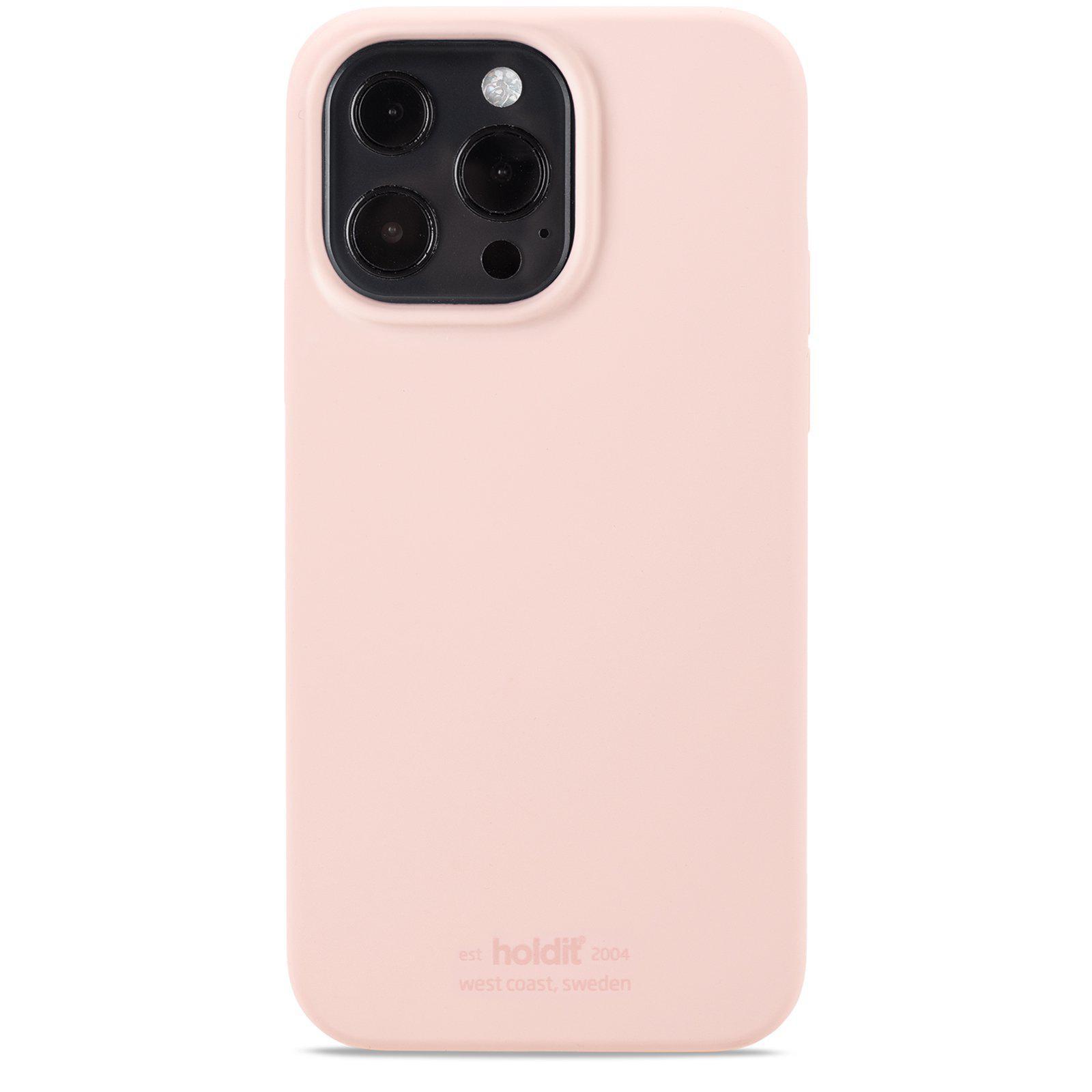 Silikonikuori iPhone 13 Pro Max Blush Pink