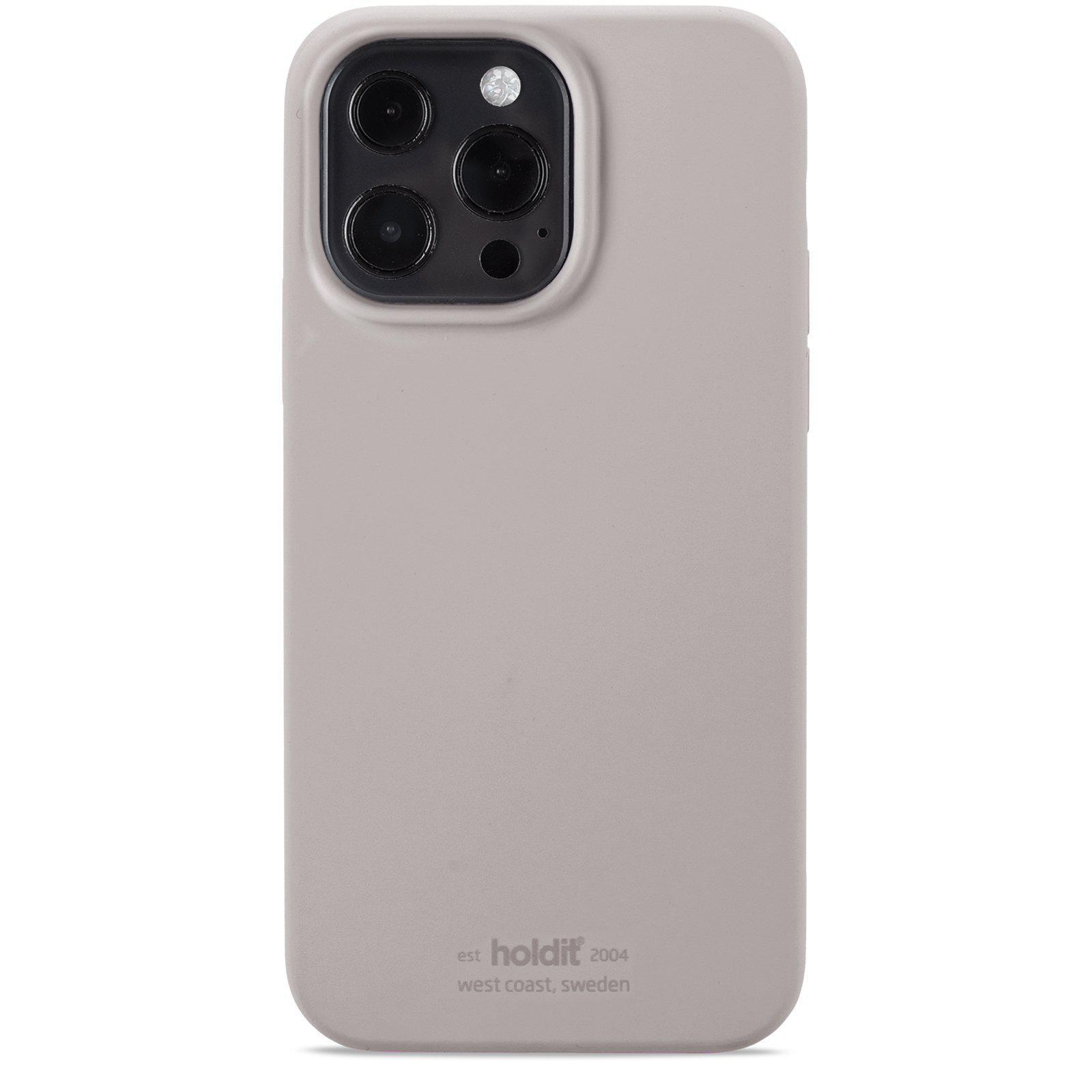 Silikonikuori iPhone 13 Pro Max Taupe