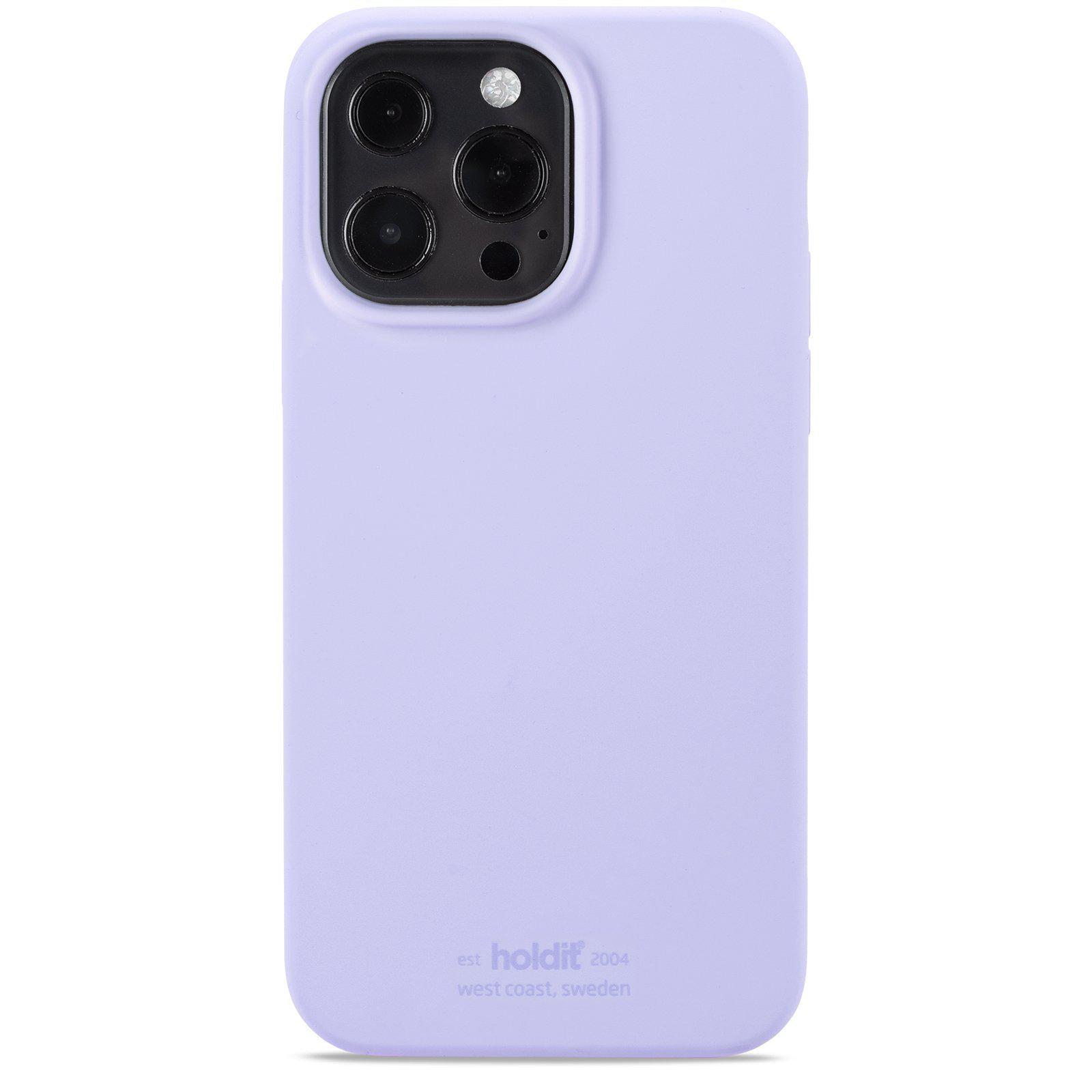Silikonikuori iPhone 13 Pro Lavender
