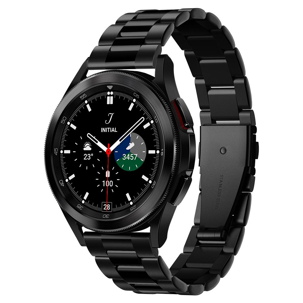 Galaxy Watch 4 40/42/44/46 mm Armband Modern Fit Black
