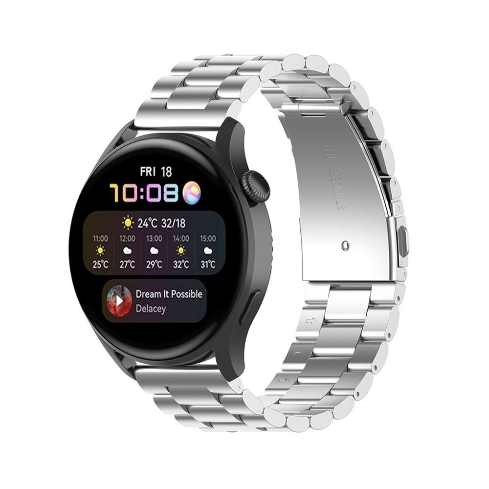 Metalliranneke Huawei Watch 3/3 Pro hopea