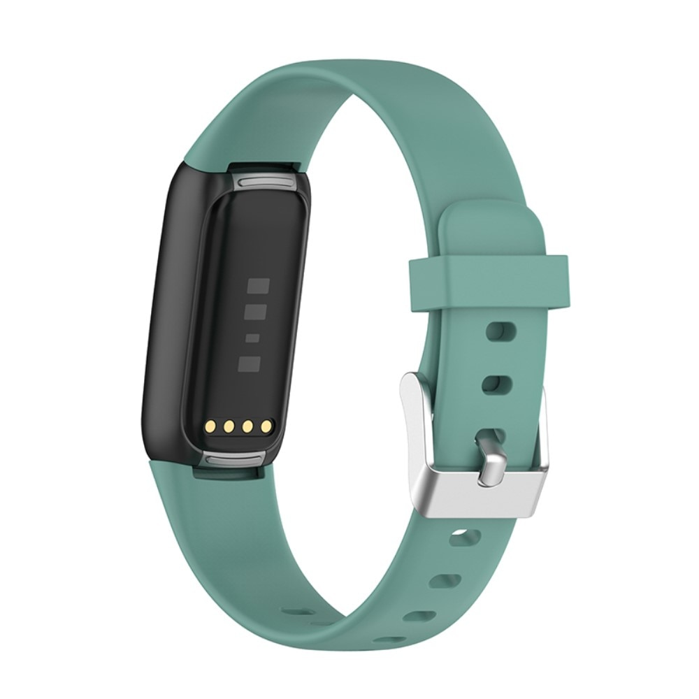 Silikoniranneke Fitbit Luxe vihreä (Small)