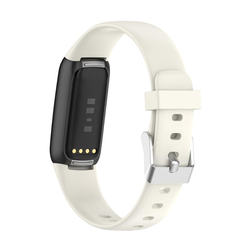Silikoniranneke Fitbit Luxe valkoinen(Small)