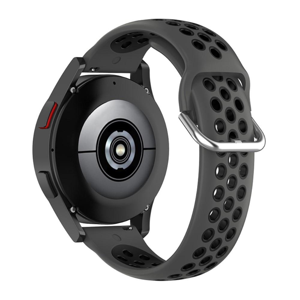 Silikoniranneke Urheilu Galaxy Watch 45mm/46mm harmaa