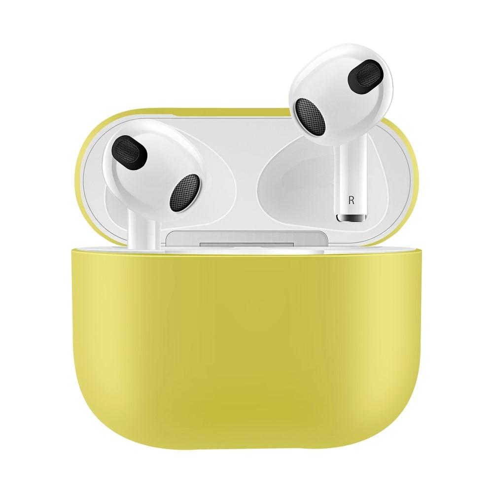 Silikonikotelo Apple AirPods 3 keltainen