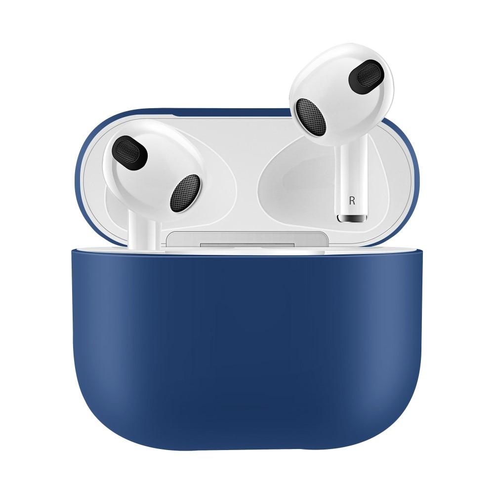 Silikonikotelo Apple AirPods 3 sininen