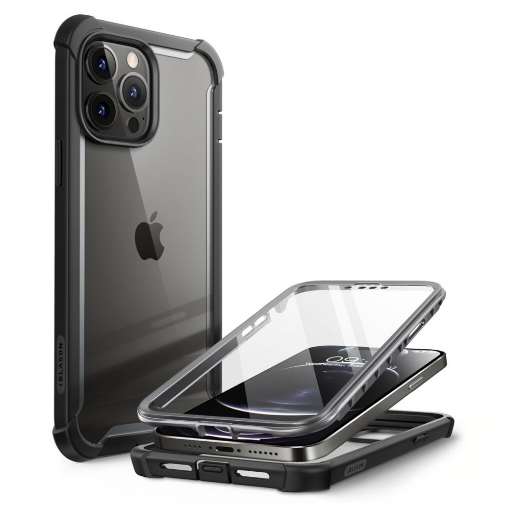 Ares Clear Case iPhone 13 Pro Max Black