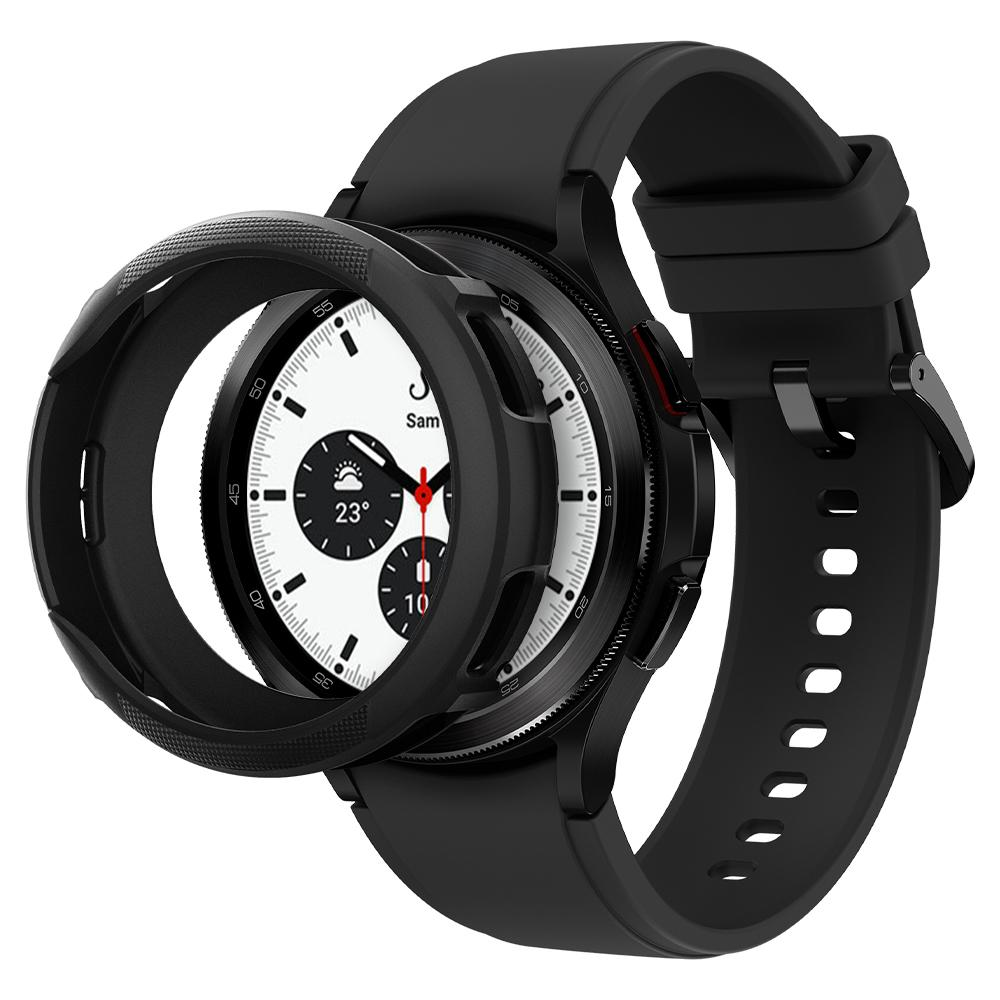Galaxy Watch 4 Classic 46mm Case Liquid Air Black