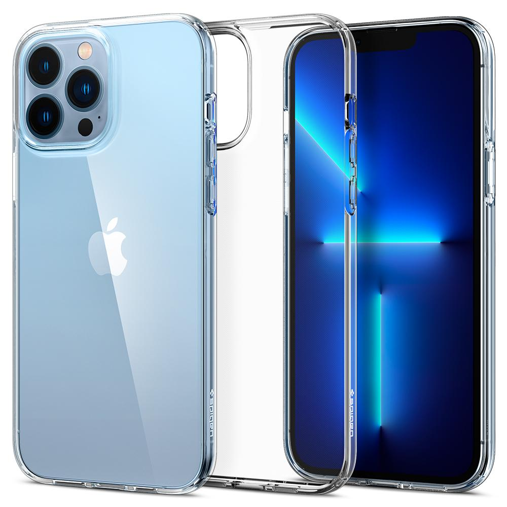 iPhone 13 Pro Max Case Liquid Crystal Clear