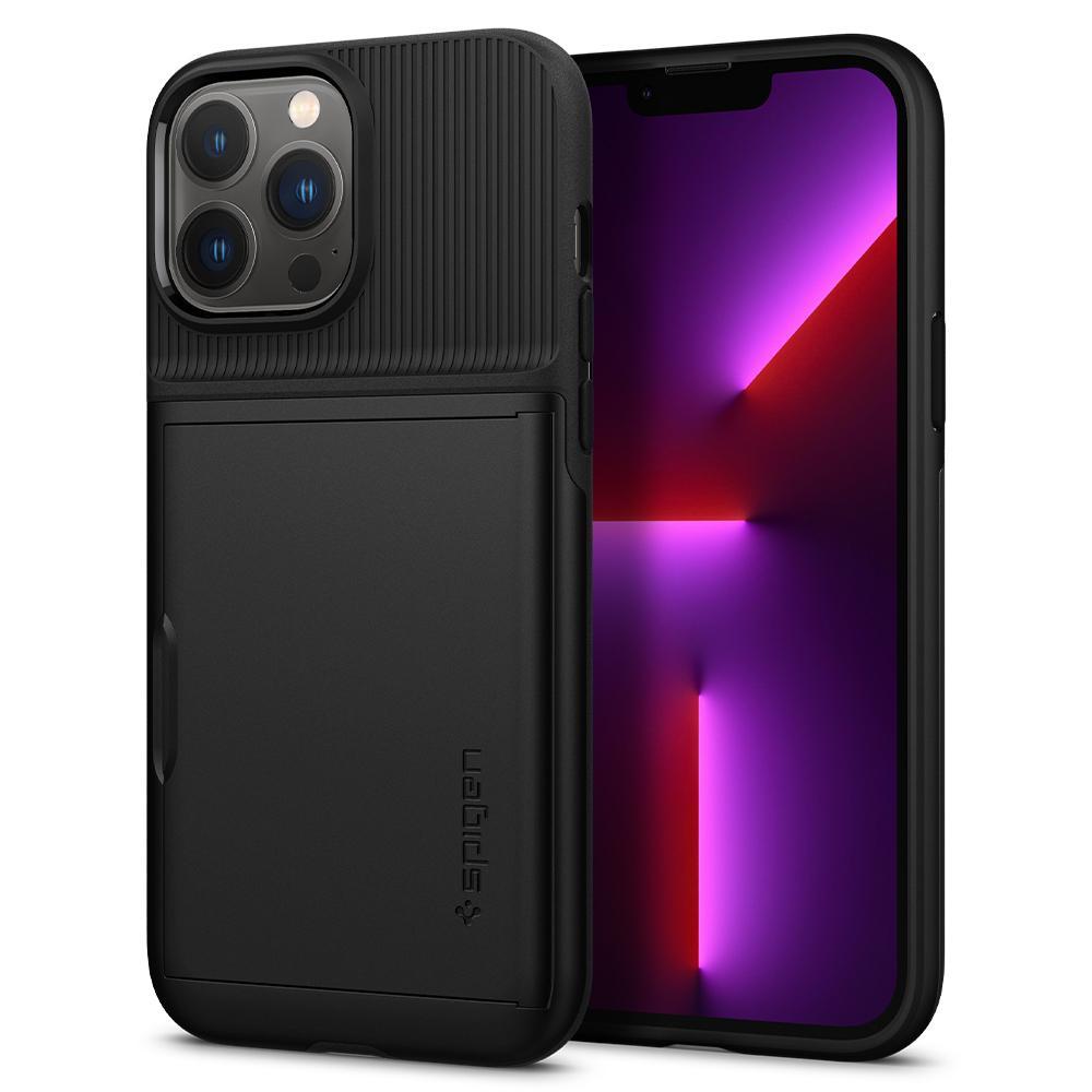 iPhone 13 Pro Max Case Slim Armor CS Black