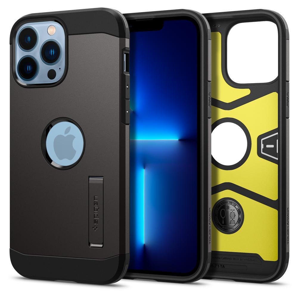 iPhone 13 Pro Max Case Tough Armor Black