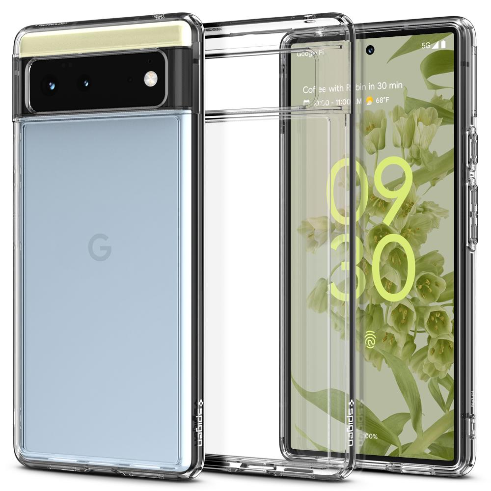 Google Pixel 6 Case Ultra Hybrid Crystal Clear
