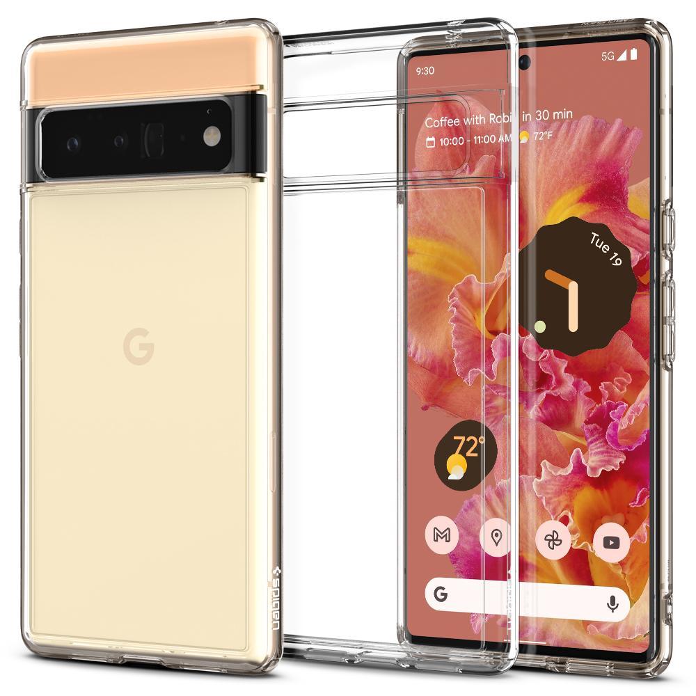 Google Pixel 6 Pro Case Ultra Hybrid Crystal Clear