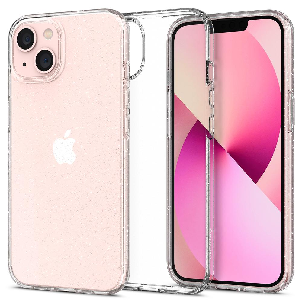 iPhone 13 Case Liquid Crystal Glitter Crystal