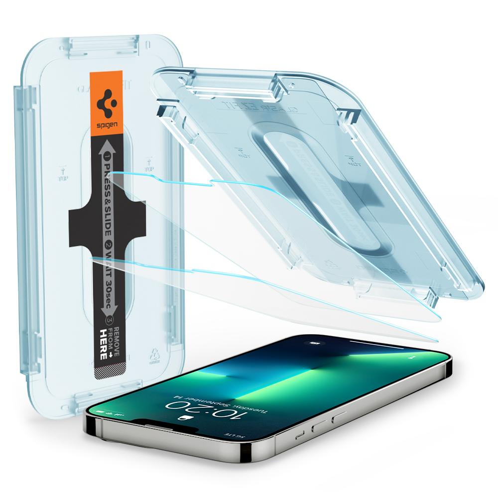 iPhone 13/13 Pro Screen Protector GLAS.tR EZ Fit (2-pack)