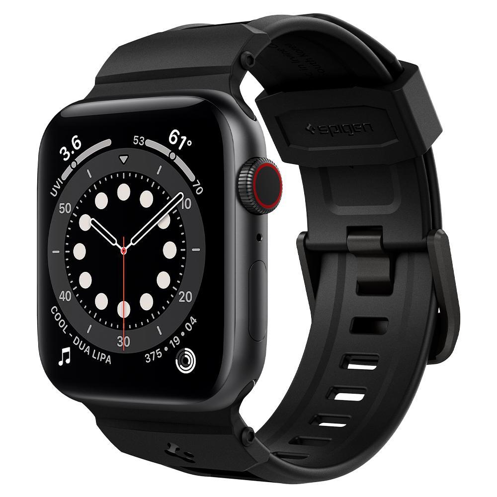 Apple Watch 42/44/45 mm Rugged Band Black