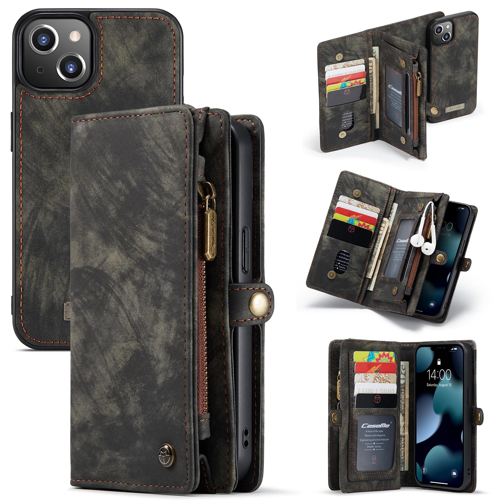 Multi-slot Suojakotelo iPhone 13 Mini harmaa