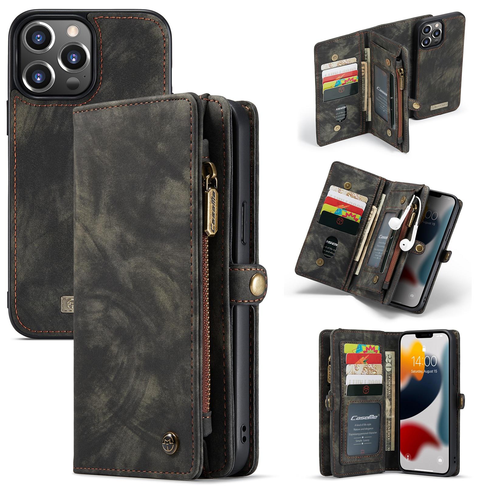Multi-slot Suojakotelo iPhone 13 Pro harmaa
