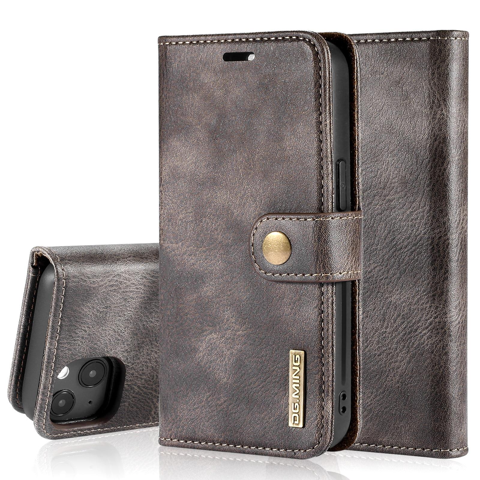 Magnet Wallet iPhone 13 Brown
