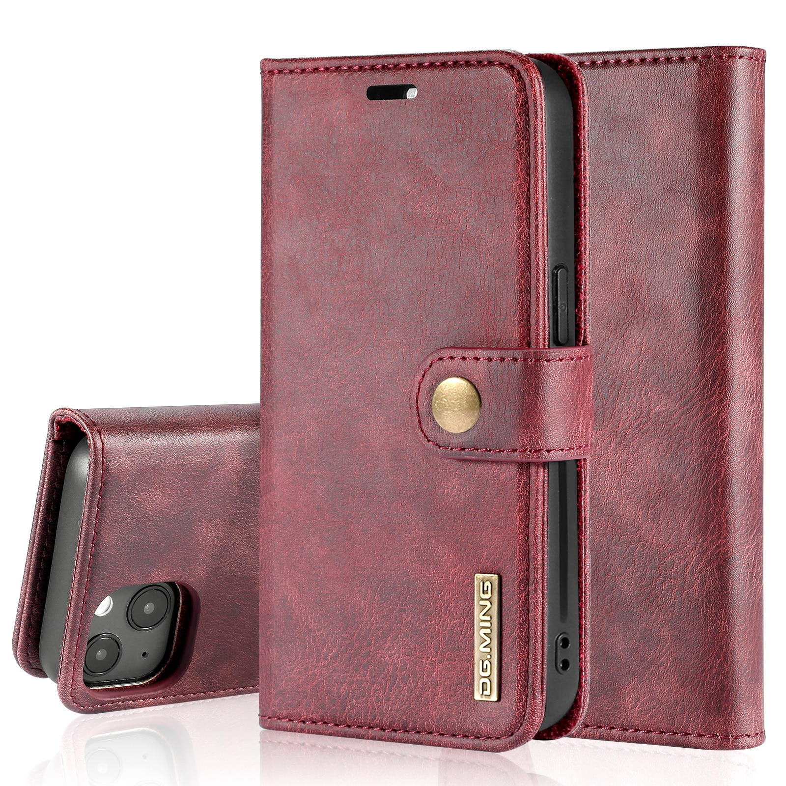 Magnet Wallet iPhone 13 Red