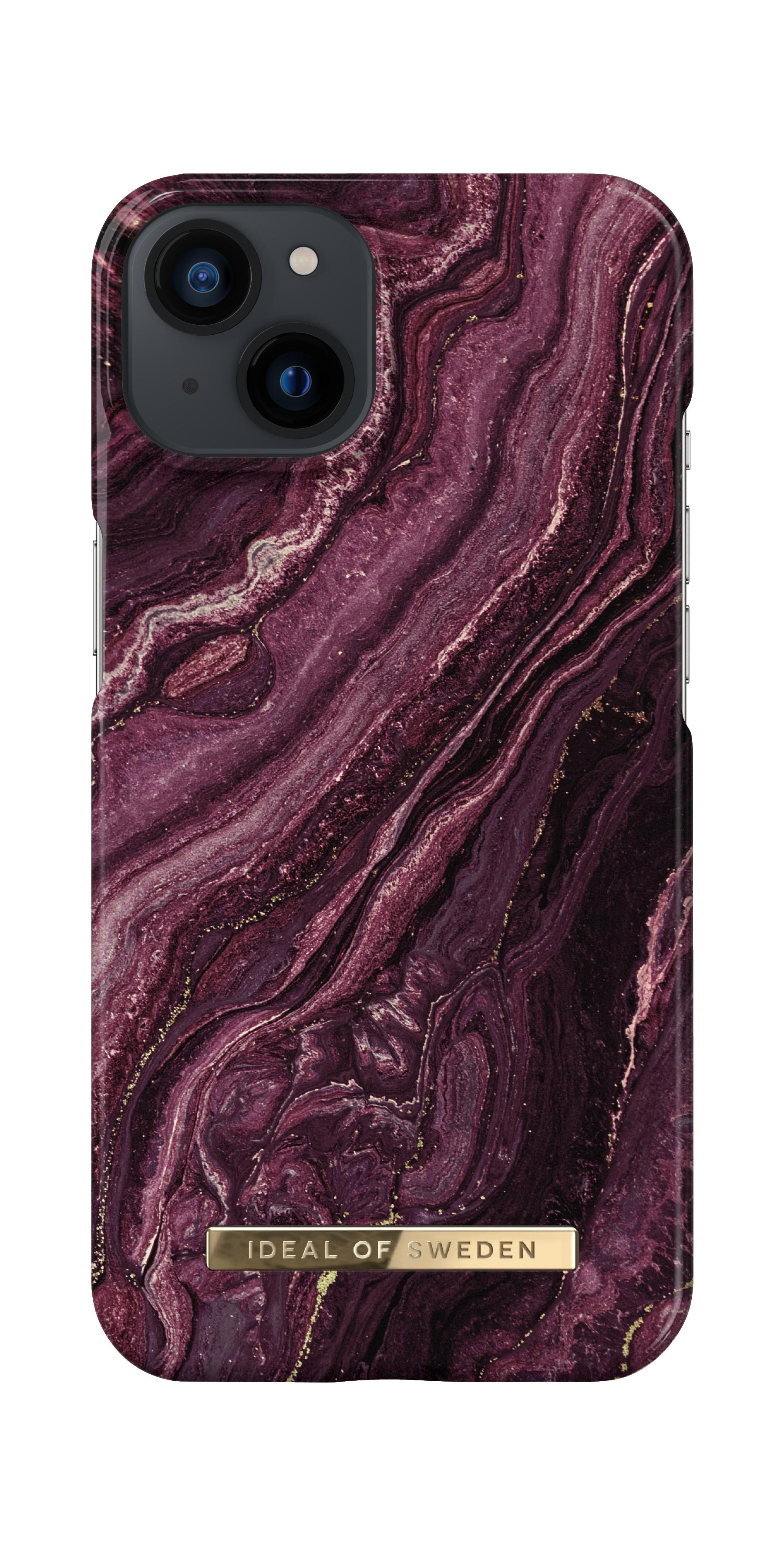 Fashion Case iPhone 13 Golden Plum