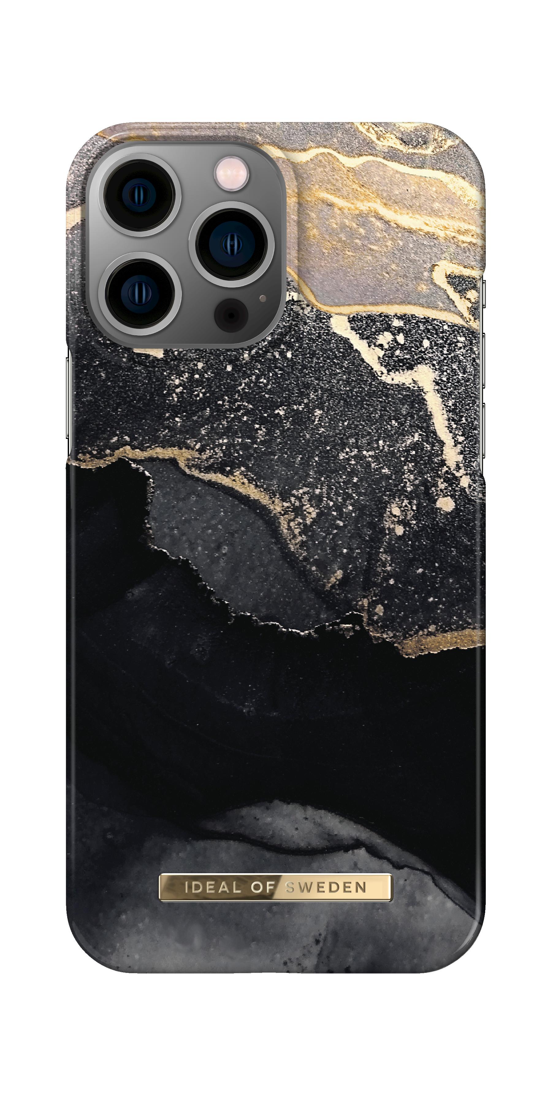 Fashion Case iPhone 13 Pro Max Golden Twilight Marble