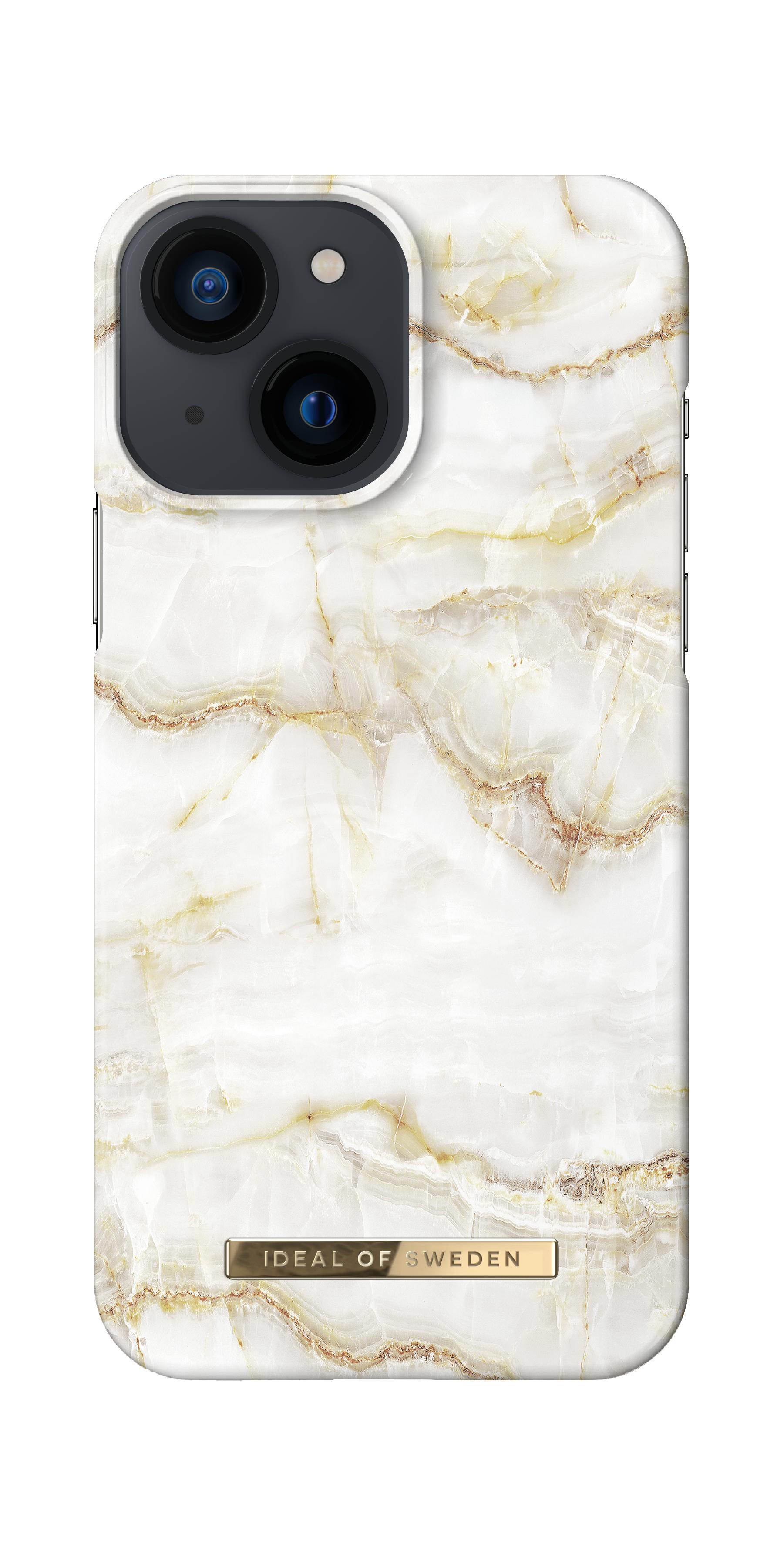 Fashion Case iPhone 13 Mini Golden Pearl Marble
