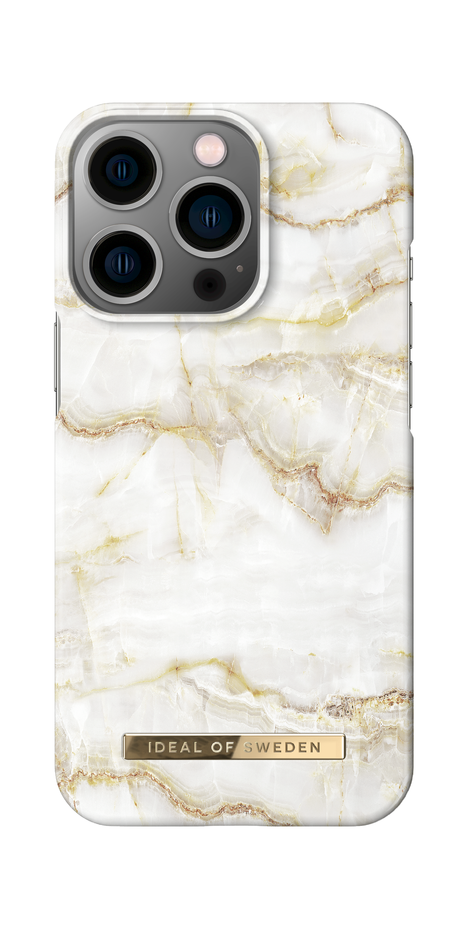 Fashion Case iPhone 13 Pro Golden Pearl Marble