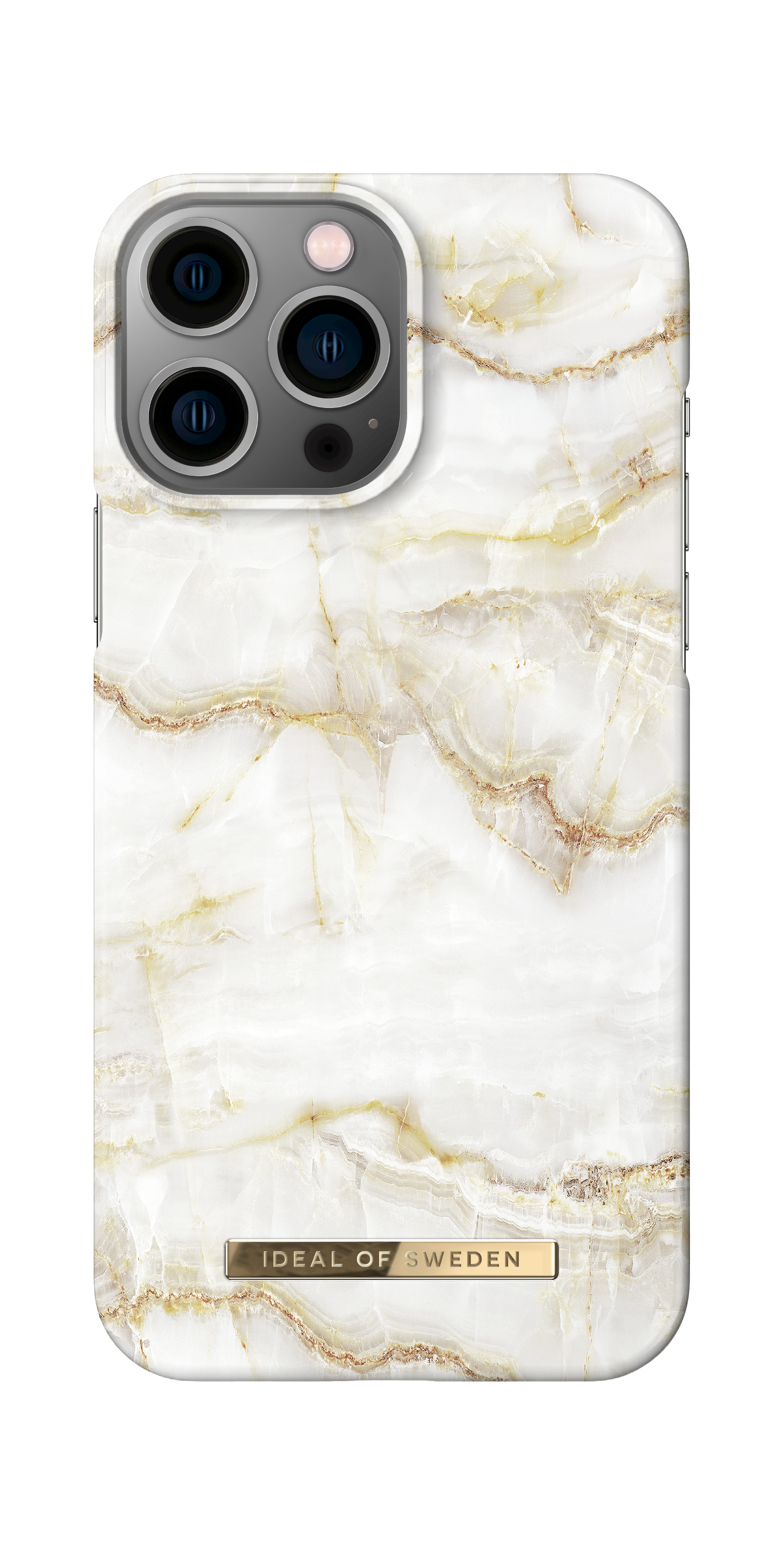 Fashion Case iPhone 13 Pro Max Golden Pearl Marble