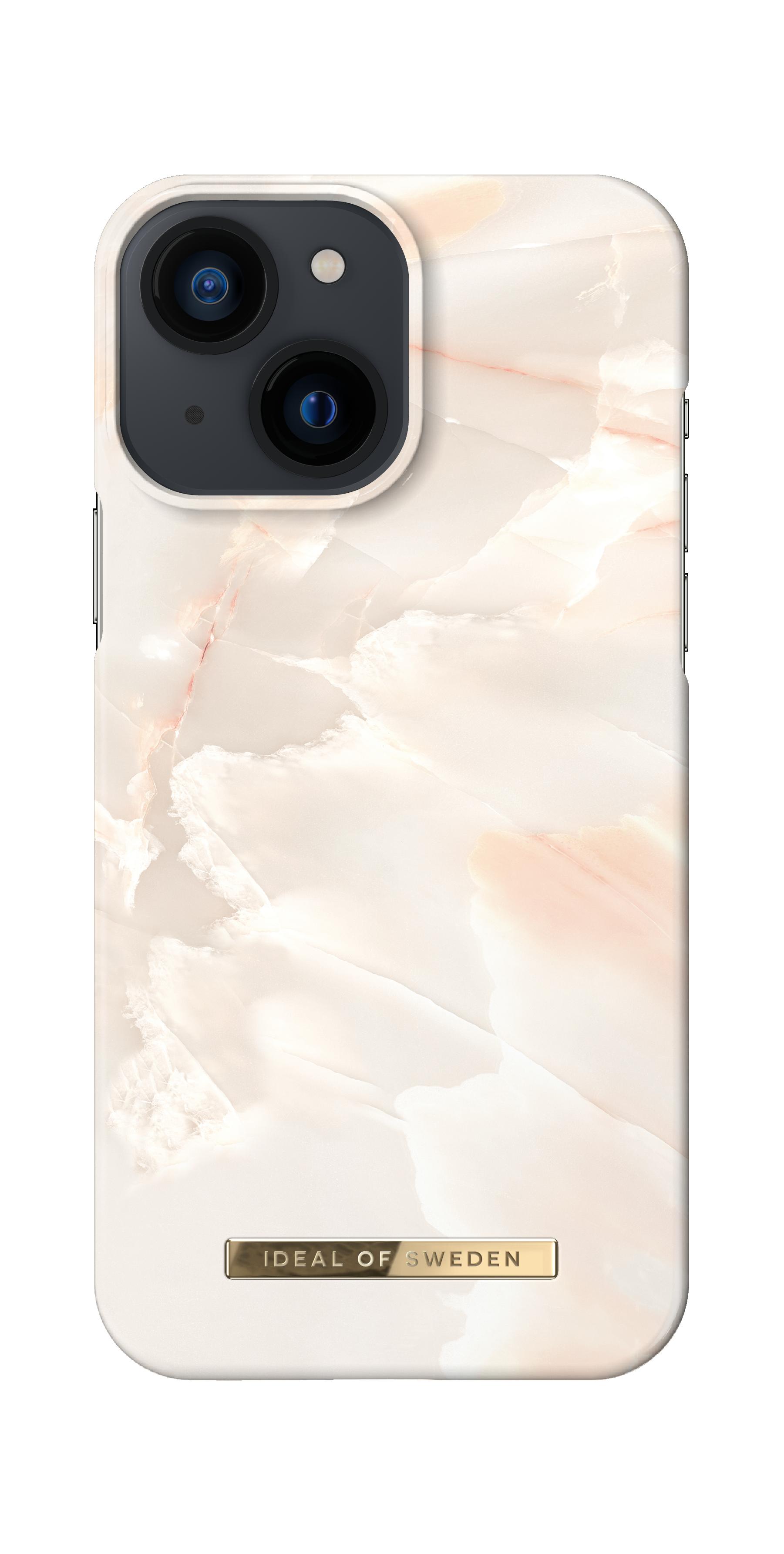 Fashion Case iPhone 13 Mini Rose Pearl Marble