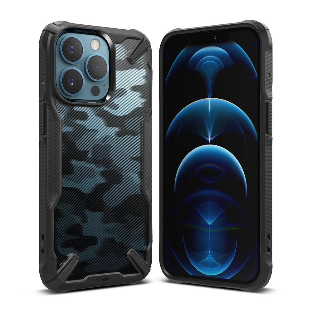 Fusion X Design Case iPhone 13 Pro Max Camo Black