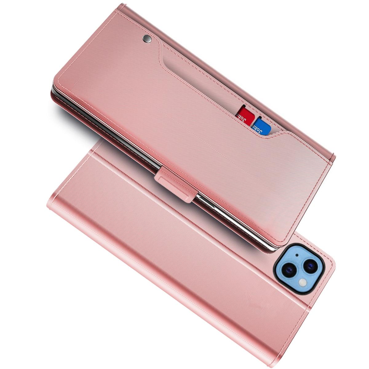 Suojakotelo Peili iPhone 13 Vaaleanpunainen