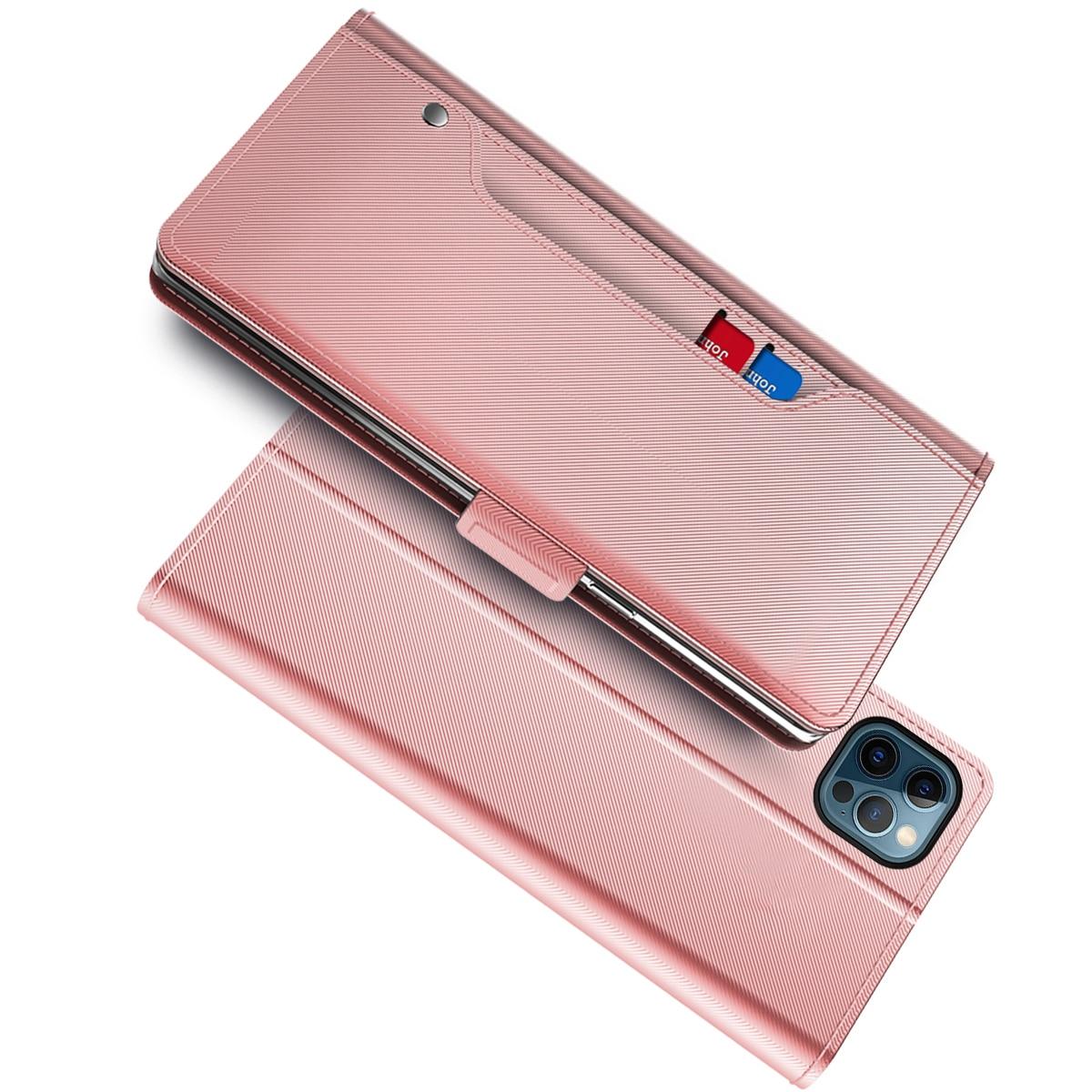 Suojakotelo Peili iPhone 13 Pro Max Vaaleanpunainen